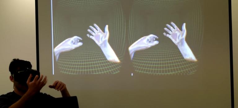 Oculus adquiere compañía de tecnología de reconocimiento de manos en 3D.