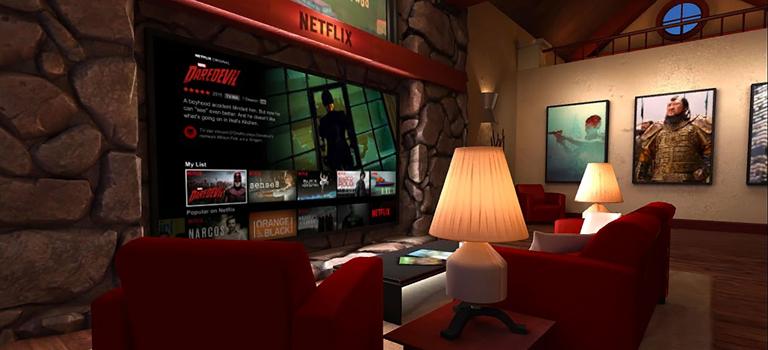 Ahora puede ver Netflix en la realidad virtual