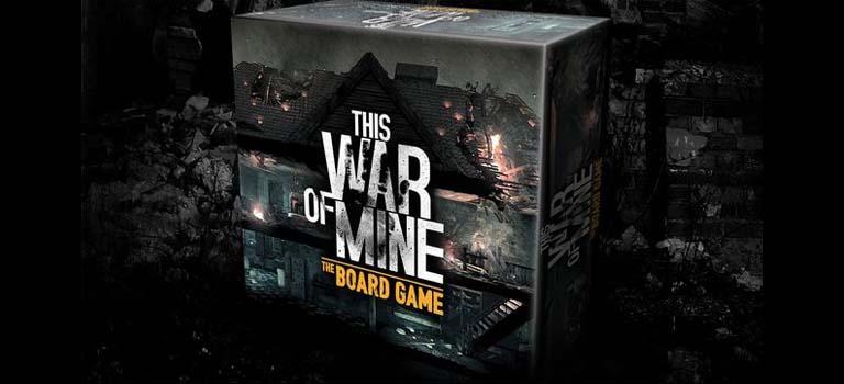 This War of Mine adaptación a juego de mesa