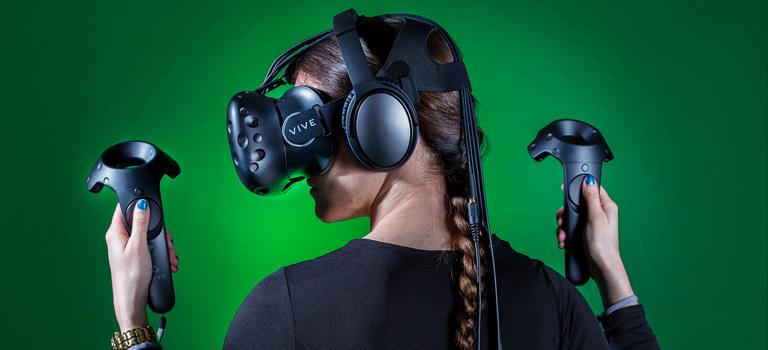 HTC está trayendo anuncios al Vive que pueden detectar si los miras