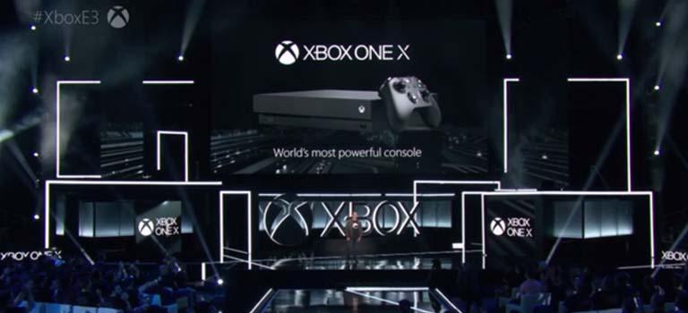 Project Scorpio se reveló como Xbox One X