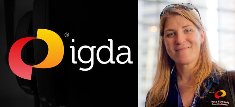 La directora ejecutiva de IGDA, Kate Edwards, se retira