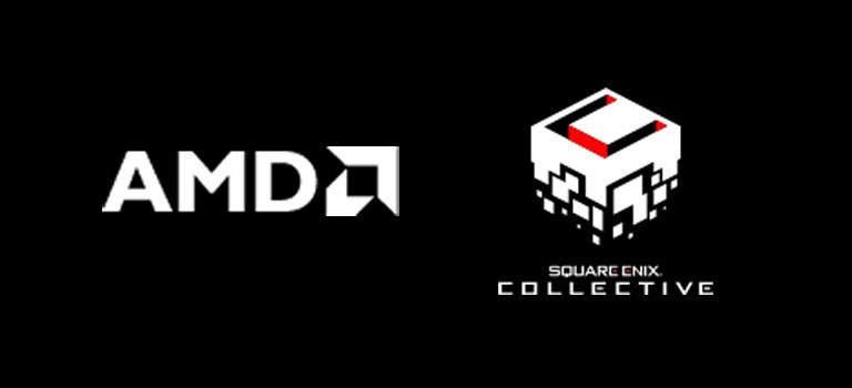 AMD y Square Enix Collective han anunciado una nueva asociación